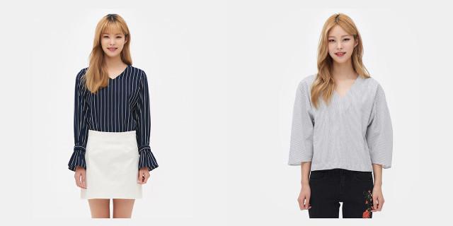 무난한 셔츠/블라우스 코디 추천 | 인공지능 스타일리스트의 패션코디, 마이셀럽스