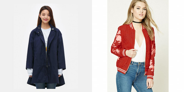 여행코디, 청순한 재킷/코트 코디 추천| 인공지능 스타일리스트의 패션코디, 마이셀럽스
