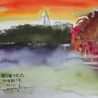 우에노공원연못