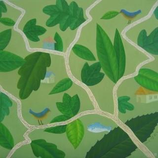 나뭇잎 사이로