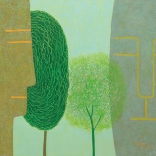생각하는 나무 - 봄