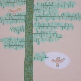 생각하는 나무 - 새
