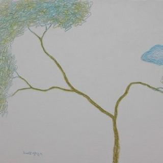 생각하는 나무 - 구름따라