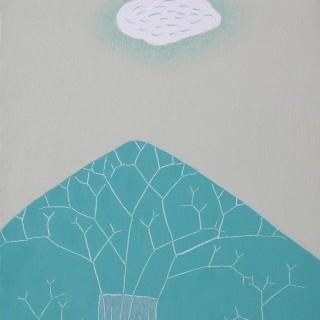생각하는 나무 - 구름한점