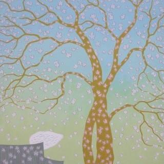 생각하는 나무 - 꽃잎