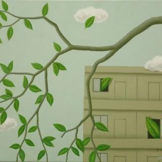 나뭇잎 사이로 - 집