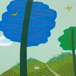 하늘 그리는 나무 - 파랑