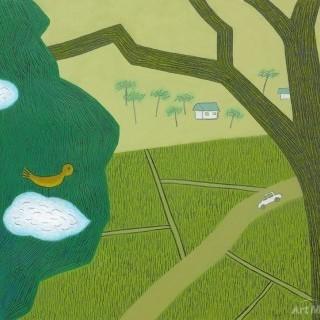 하늘 그리는 나무 - 마을