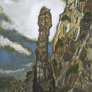 금강산 거시기 바위
