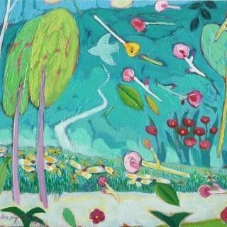 정원 - 꽃바람