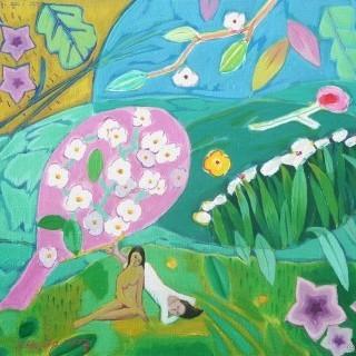 정원 - 꽃비