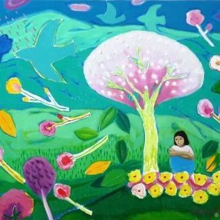 정원 - 봄