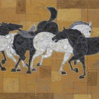 말 - 군무