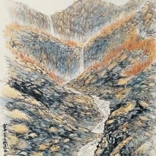 설악산 토왕성 폭포