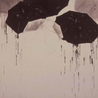 비와 우산