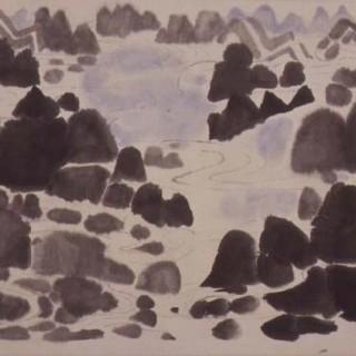 춤추는 산과 물 이미지