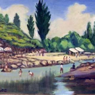 유원지 풍경