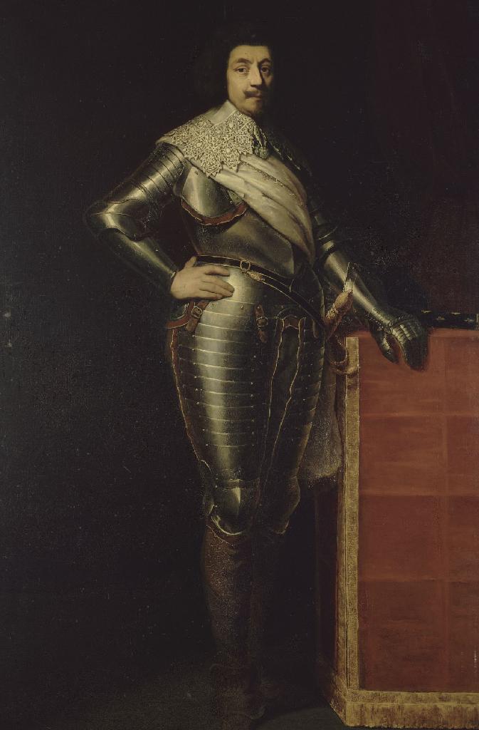 투아라스 후작 장 뒤 캐라 드 생-보네, 1630년 프랑스 총 사령관 (1636년 사망) 큰이미지
