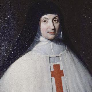마리-안젤리크 아르노의 초상, (안젤리크 수녀) (1591-1661)