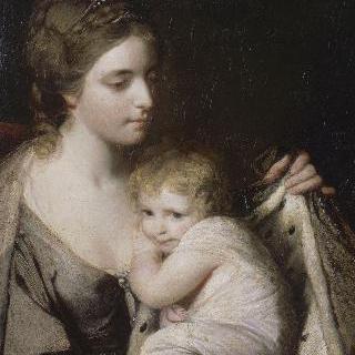 발트그레이브 백작부인과 그녀의 딸 엘리자베스 로라의 초상
