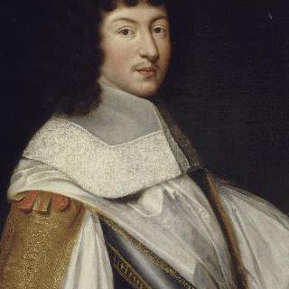 1660년경의 루이 14세의 초상 (1638-1715)