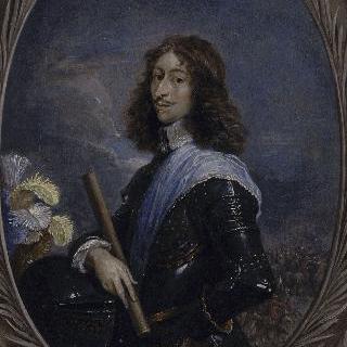 그랑 콩데라는 별명을 가진 루이 드 부르봉의 초상 (네번째 콩데 왕자)