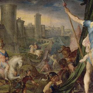 예루살렘 앞의 십자군 진영