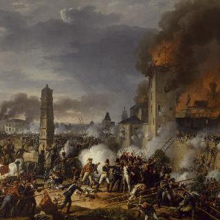 1809년 2월 란 총사령관의 지휘 아래 진행된 라티스본 공격과 함락