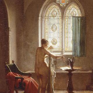 고딕양식의 욕실