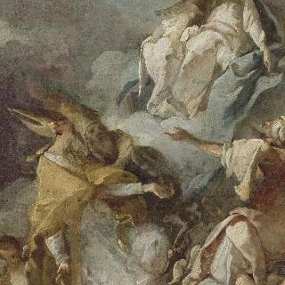 연옥의 영혼들을 위하여 성모에게 나선 성 야고보