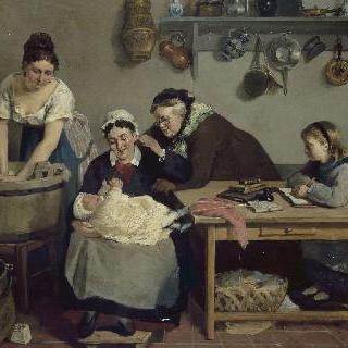 가족의 모습
