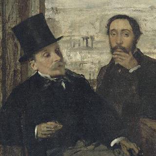 드가와 에바리스트 드 발레른 (1817-1896), 화가와 화가의 친구