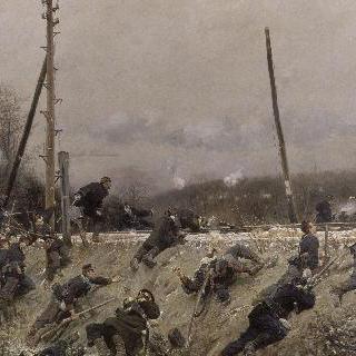 철로 위의 전투