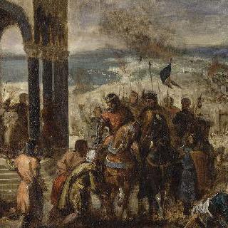 십자군의 콘스탄티노플 함락, 1204년 4월 14일