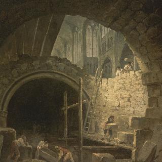 1793년 생-드니 성당 왕실 지하 묘소 침입 사건