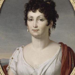 루시앙 보나파르트의 두번째 부인 알렉상드린 드 블레샹