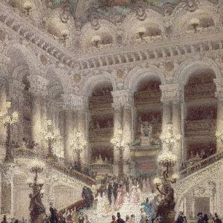 오페라 극장의 계단