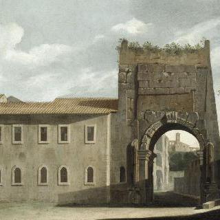 로마의 티투스 아치(개선문)