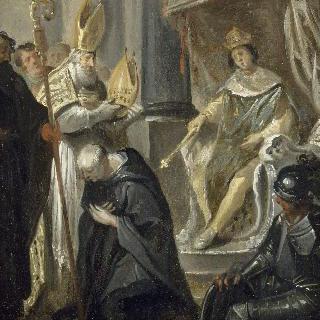 생-드니의 수도사가 되는 쉬제