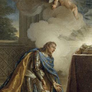 가시면류관을 받는 성 루이(루이15세)