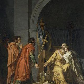 아버지 스키피옹에게 아들을 돌려준 안티오쿠스