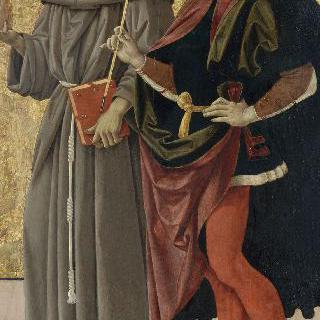 성 세바스티아누스와 프란체스코회 수도회 성인