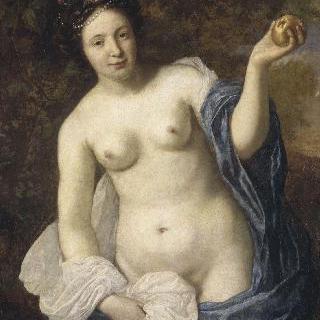 파리스의 사과를 들고있는 비너스