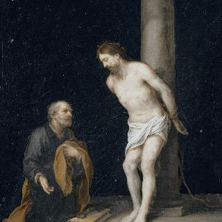 기둥에 묶인 예수