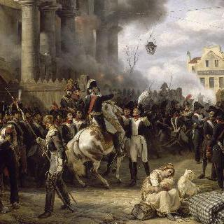 클리시 방어선, 파리 수비, 1814년 3월 30일