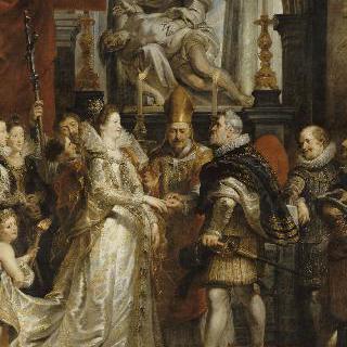 1600년 10월 5일, 마리 드 메디시스와 앙리 4세의 결혼을 위한 대리 결혼식