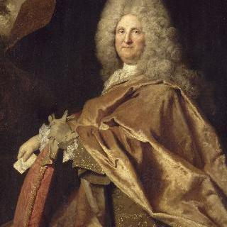 남자의 초상 (자크 드 라즈, 1718년 왕실 서기관)
