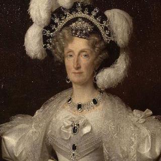 프랑스 왕비 마리 아멜리의 초상