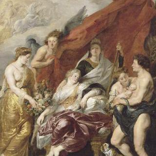1601년 9월 27일, 퐁텐블로에서 태어난 루이13세