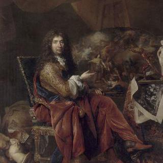 샤를 르 브룅 (1619-1690), 수석 궁중 화가
